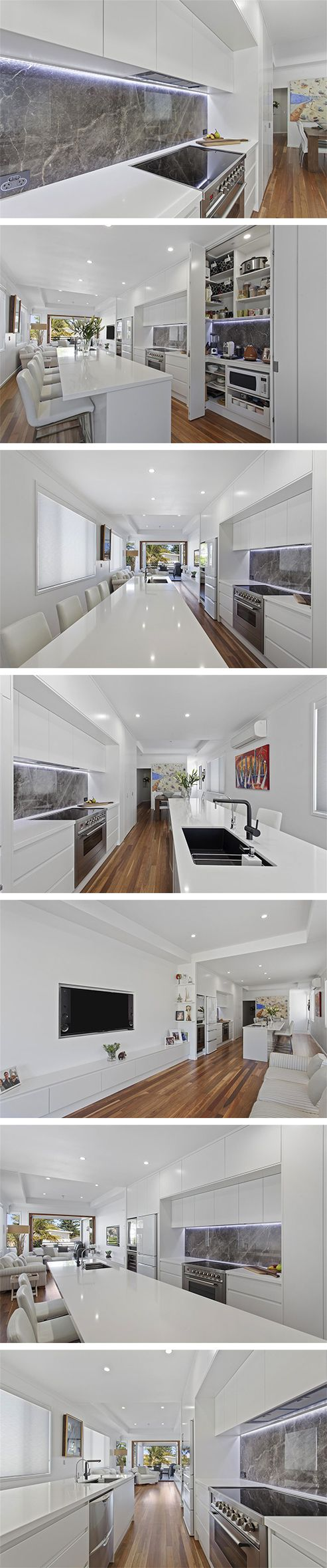 An award winning kitchen renovation by Smith & Sons Gold Coast Central. Simply STUNNING. <3