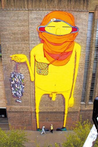 Obras de Nunca, osgemeos, Speto, Zezão e outros grafiteiros em São Paulo - Fotos - UOL Entretenimento