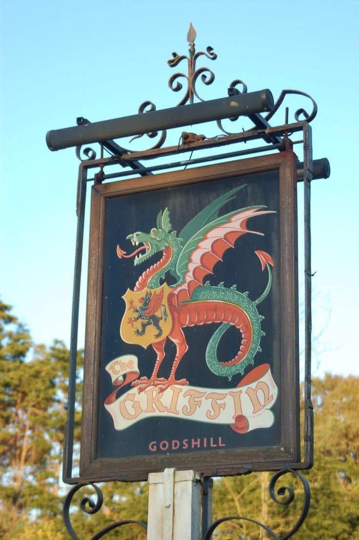 Isle of Wight griffin pub godshill.