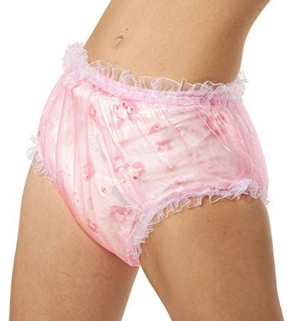 a4ac33955fc8 Adult Baby Diaper Lover ASC Pink Frilly Plastic Diaper Covers (xxl) Review