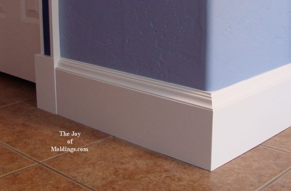 how to finish baseboard trim