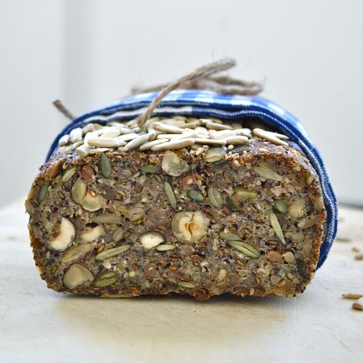 healthy nut and seed bread