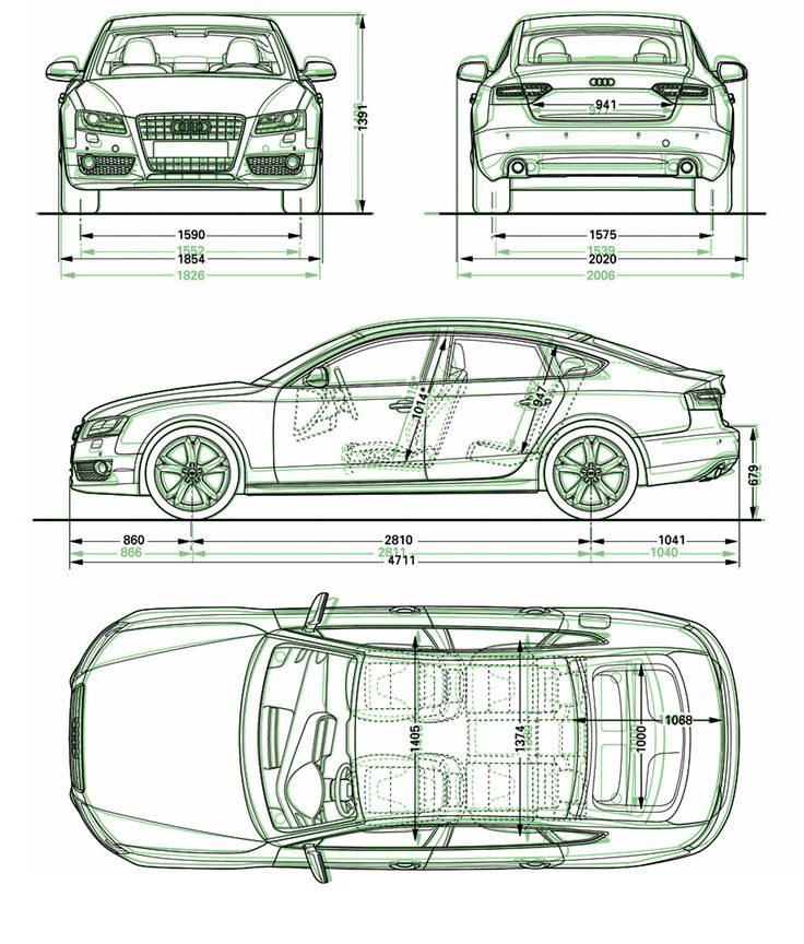 orthographic car