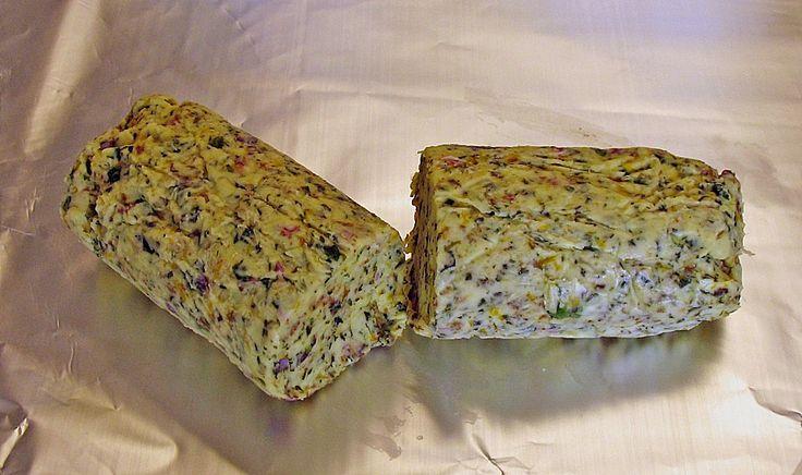 Chefkoch.de Rezept: Wildkräuter - Butter à la Kräuterjule