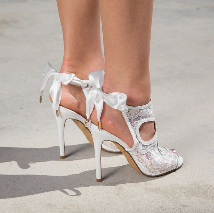 Look lovely in lace with the Siren St Tropez stiletto. Shop: https://www.shoeconnection.co.nz/womens/heels/high-heels/siren-st-tropez-stiletto-leg-tie-heel?c=Ivory