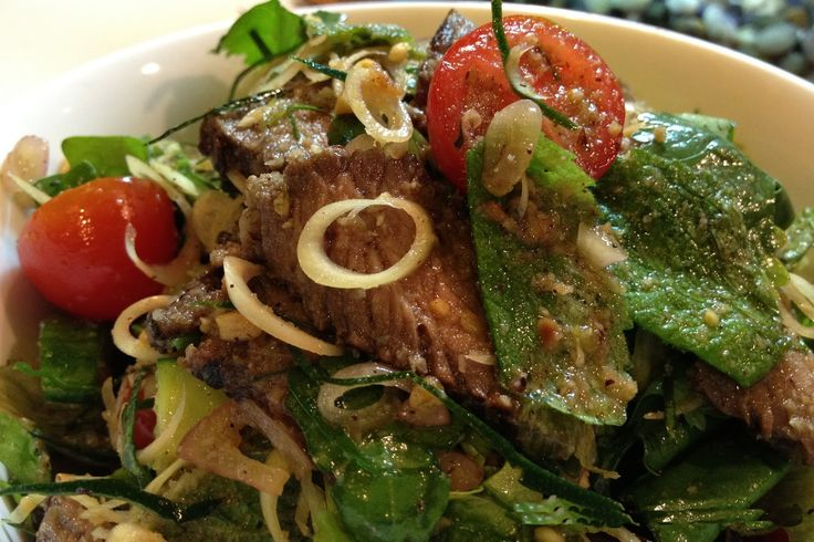 grilled beef thai style salad tally recipes more salad tally thai ...