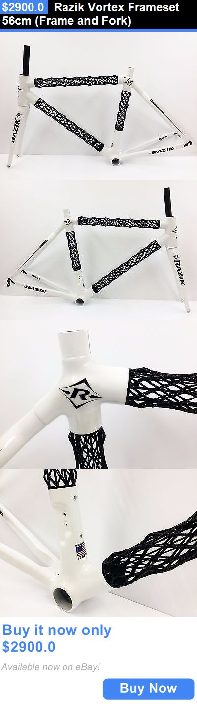 bicycle parts: Razik Vortex Frameset 56Cm (Frame And Fork) BUY IT NOW ONLY: $2900.0