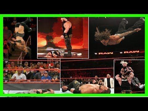 WWE RAW 9/18/2017: Braun strowman sends brock lesnar a message and roman reigns floors john cena