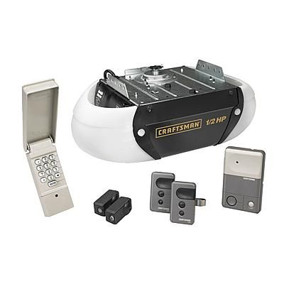 Craftsman Garage Door Opener 1 2 Hp Chain Drive 2