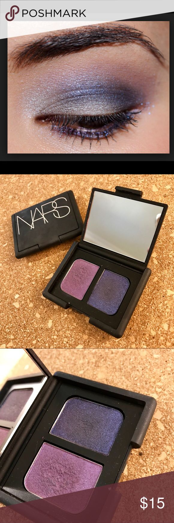 NARS Eyeshadow Duo in Marie Galante Fun, bright but sophisticated shadow duo. I have used it once but is in excellent condition. Neiman Marcus Makeup Eyeshadow
