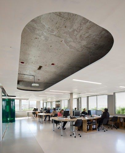 x tu architects: x office, paris, france