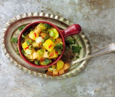 Recept: Fruktig salsa