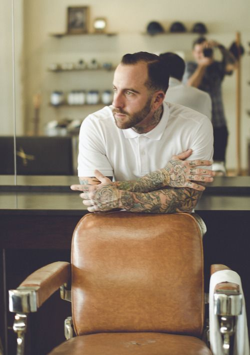 Barber Ink : Barbers, The barber and Beards on Pinterest