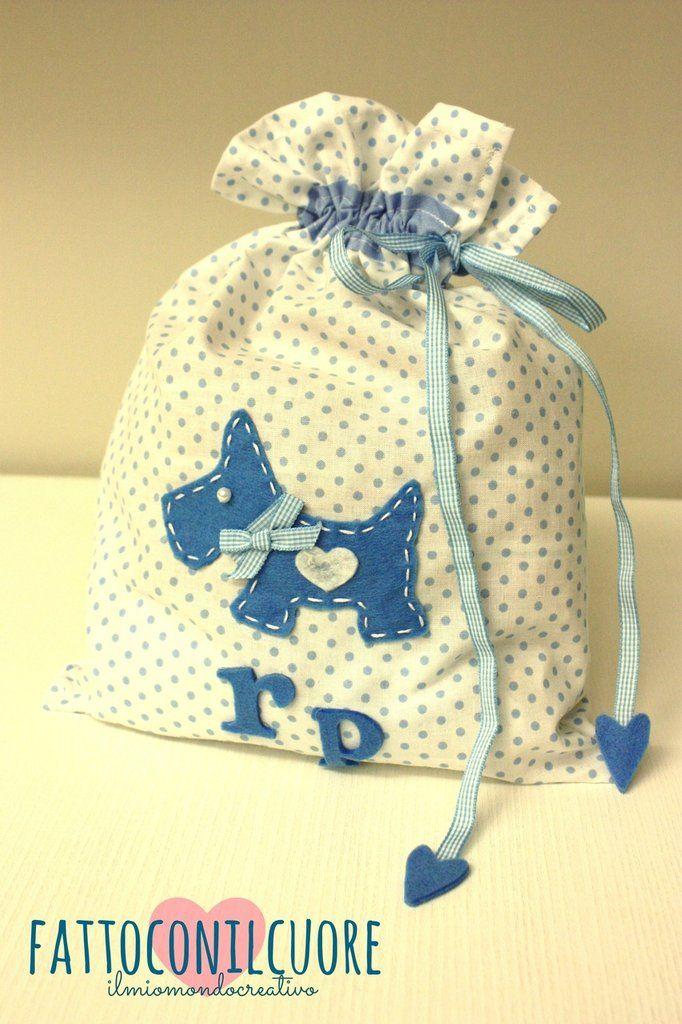 sacco per pannolini e cambio bebè , by fattoconilcuore, 16,00 € su misshobby.com  #misshobby