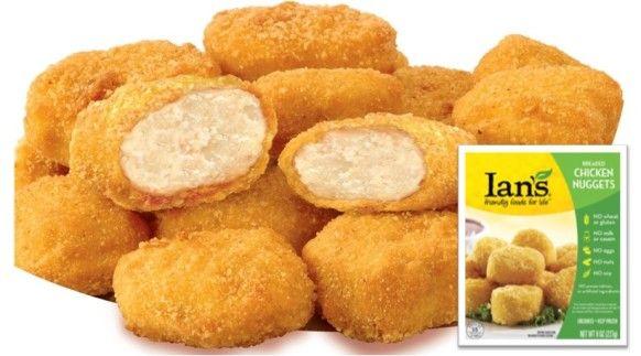 Ian's Gluten Free Chicken NuggetsChicken Nuggets, Ian Gluten, Gluten Free Chicken, Free Products