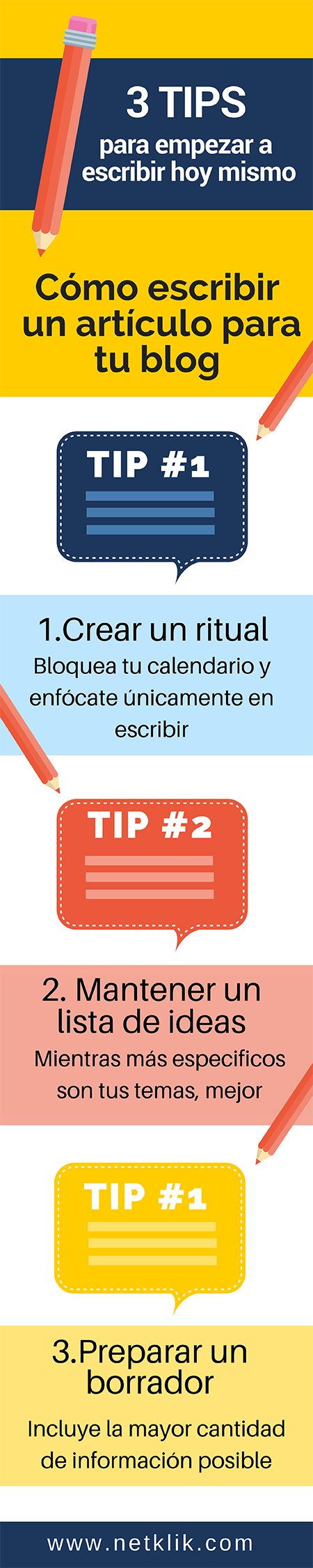 Cómo escribir un artículo para tu blog, descubre 3 tips para dejar de procrastinar y empezar a escribir hoy mismo!