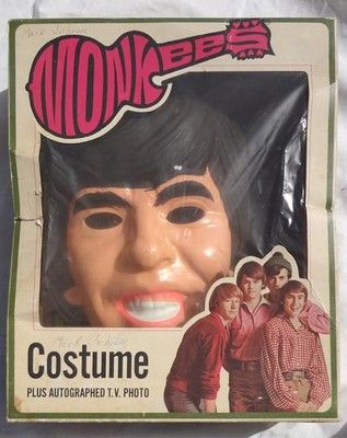 Vintage Halloween Costume ~ Davy Jones from The Monkees ©1967 miss that show!!!