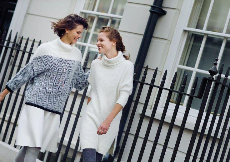 Białe ubrania na zimę - co wybrać?