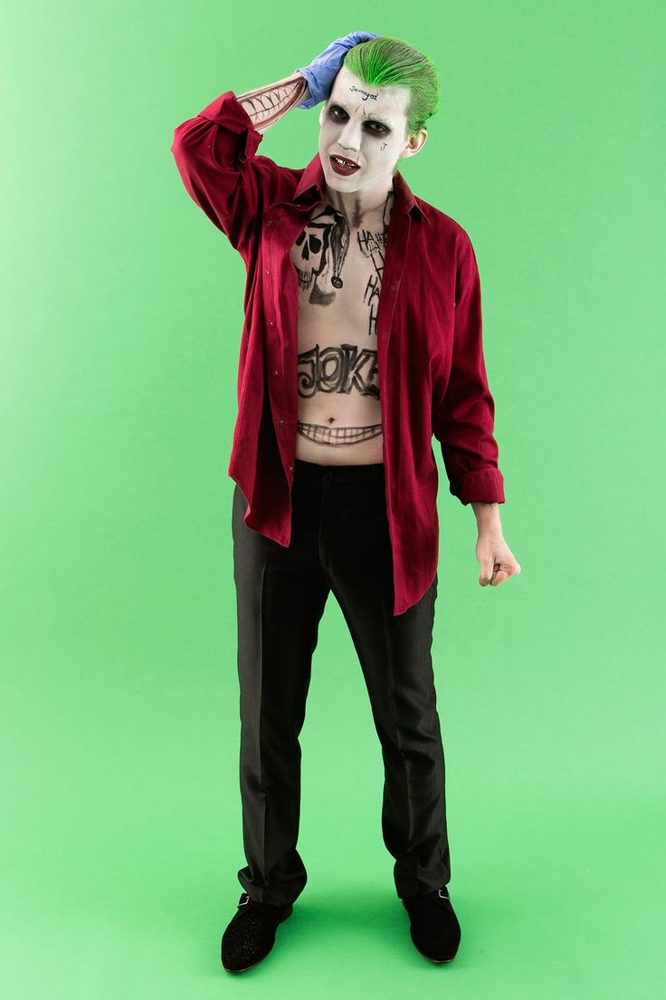 The 25 best joker costume ideas on pinterest costume joker get ready to shock your crew with this insane suicide squad joker costume solutioingenieria Choice Image
