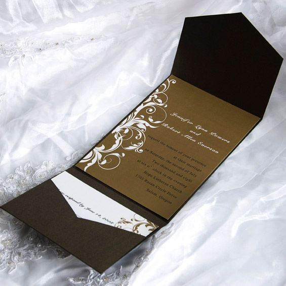 Top 25 ideas about Classic Wedding Invitation Traditional on – Cheap Wedding Invitations with Free Response Cards
