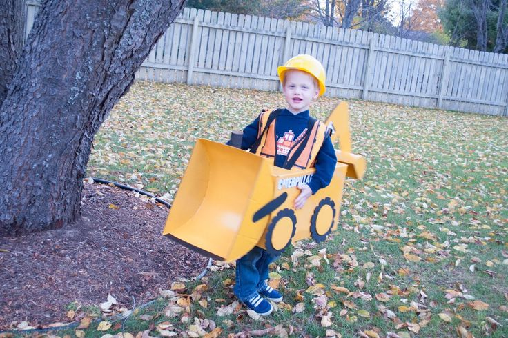 When Leland told me he wanted to be a backhoe loader for Halloween (and that Alden should be a bulldozer), the first thing I did was turn to...