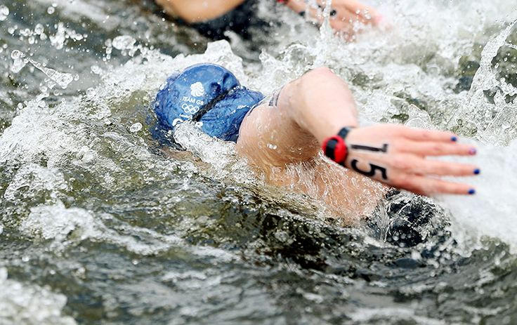Britain's Keri-Anne Payne in action during the women's marathon 10km swim