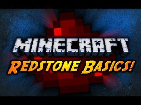 Minecraft: Redstone Basics! I'm new to minecraft so this is great!!!