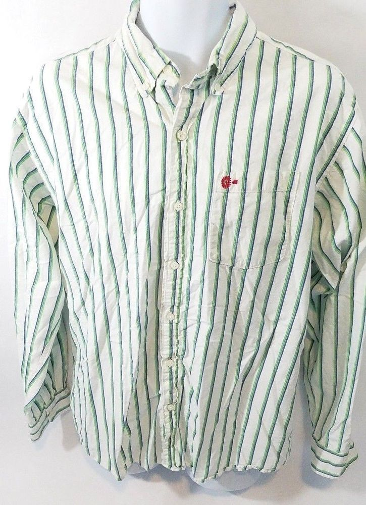 Farm Boy Mens Shirt Size Large Button Down #Farmboyauthenticbrand #ButtonFront
