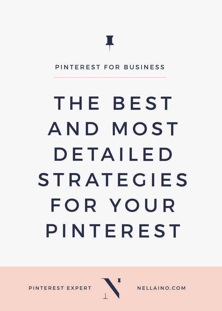 The best Pinterest strategies for small businesses via Nellaino