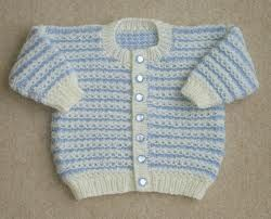 baby cardigan knitting pattern - Google Search