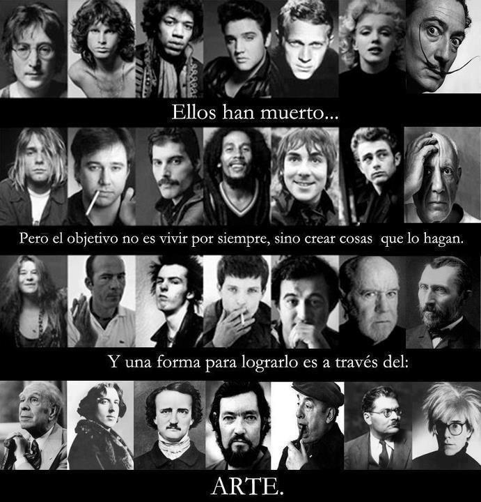 Art never dies