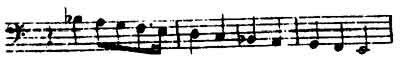 The Vertrag (Contract) Leitmotive from Wagner's Das Rheingold.