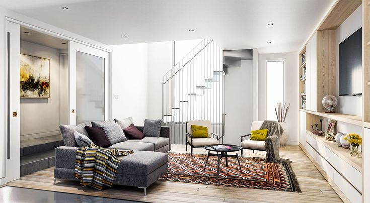 CGarchitect - Professional 3D Architectural Visualization User Community | london living 2
