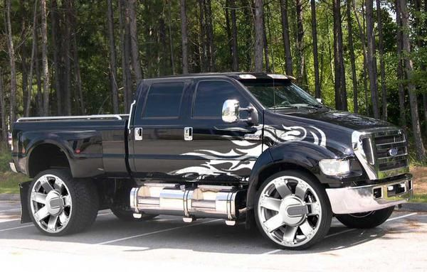 Now THAT is a truck!!!                                                                                                                                                                                 Plus