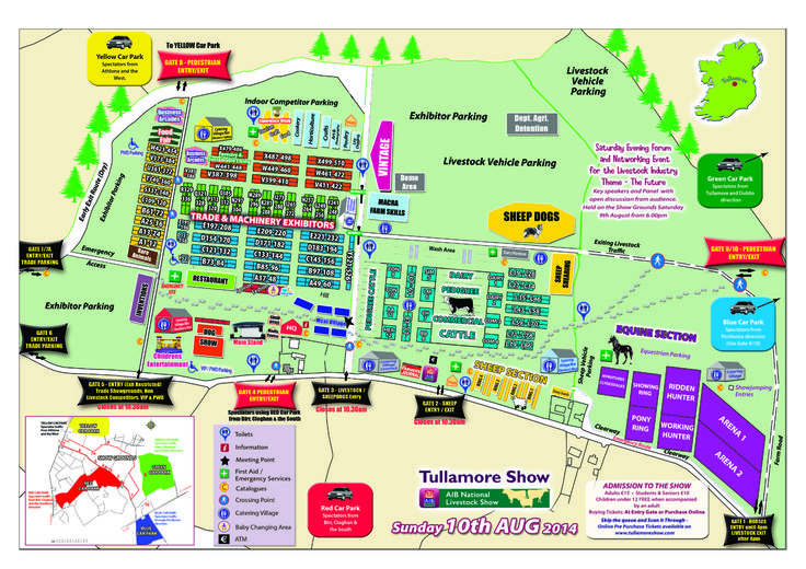 Find us in the Leisure and Tourism pavilion at this years Tullamore Show . Sponsoring the Male Angus Champion Rosette!