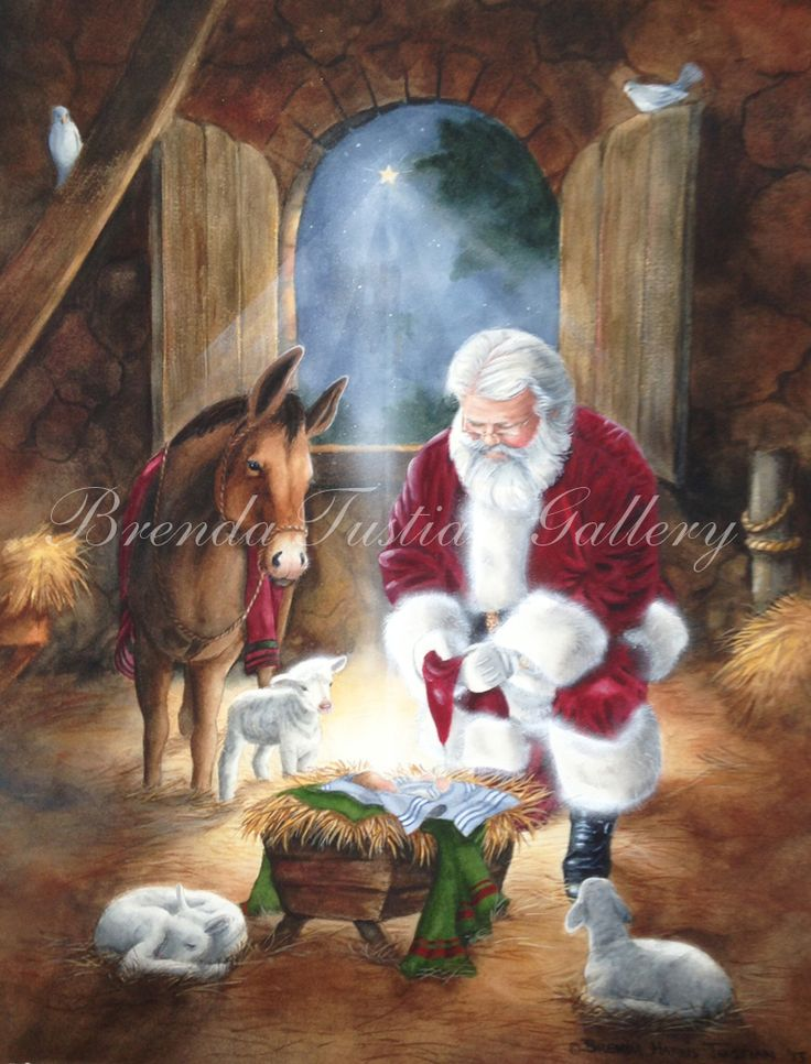 131 best images about kneeling santa and baby jesus on