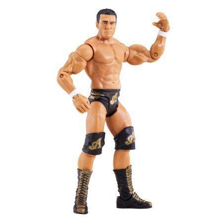 WWE Basic Alberto Del Rio Figure, Multicolor