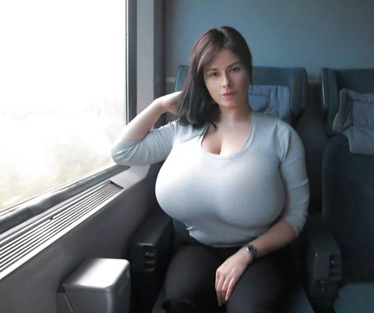German big hanging tits