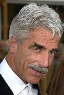 for morgan. i think he would get sam elliott to marry us if he could. actually, he might just marry sam elliott...