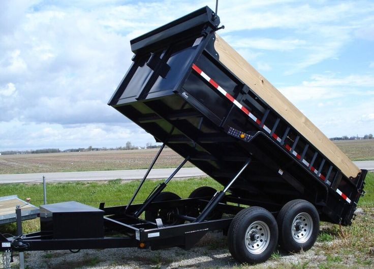25 Best Ideas About Dump Trailers On Pinterest