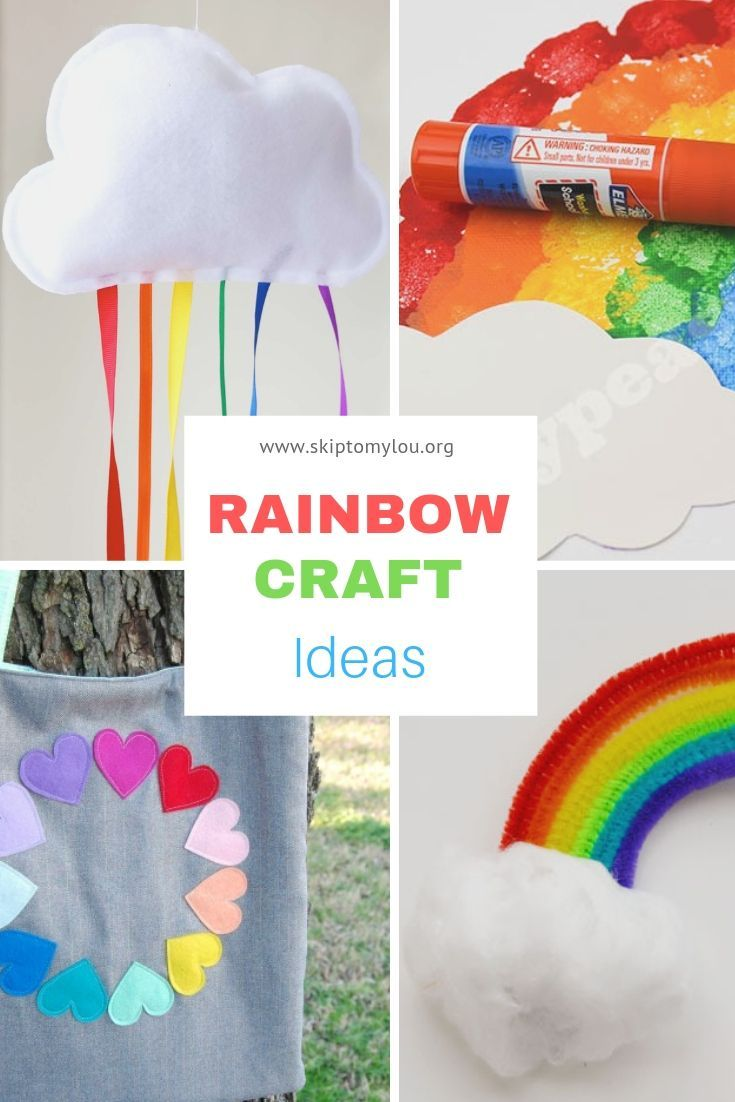 Rainbow Craft Ideas Random Fun Rainbow Crafts Craft