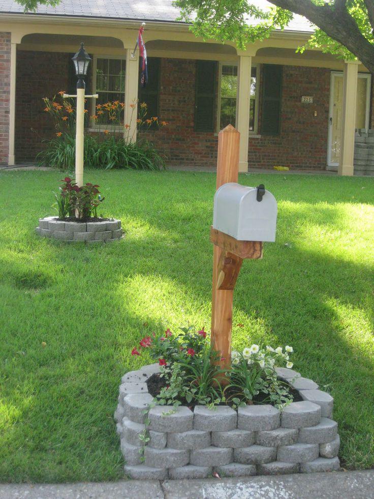 Garden Ideas Around Mailbox 19 best mailbox ideas images on pinterest | mailbox ideas