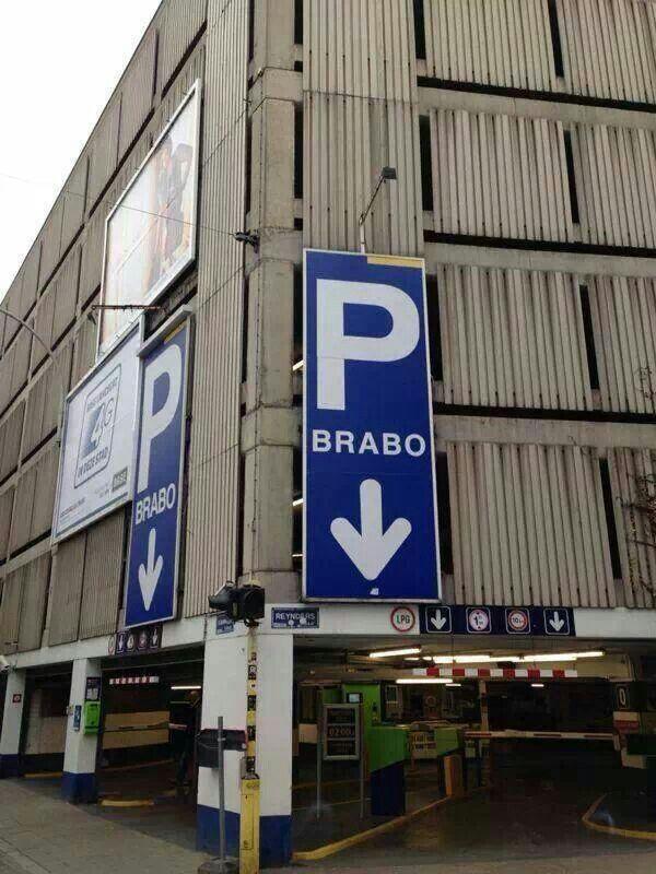 Een parking speciaal voor Brabo's