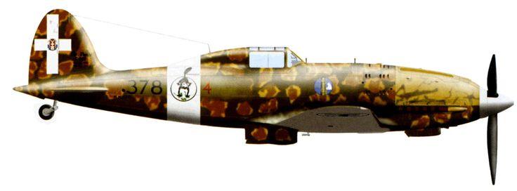 Macchi MC.202 Folgore   Italy (fascists)   378 Squadriglia, 155 Gruppo ...