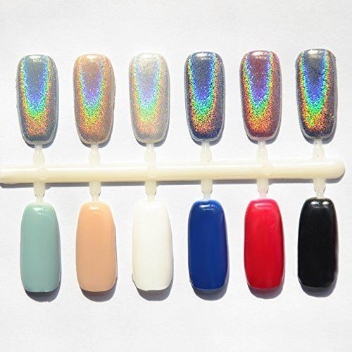 Best Holographic Nail Powder: 25+ Best Ideas About Mirror Nails On Pinterest