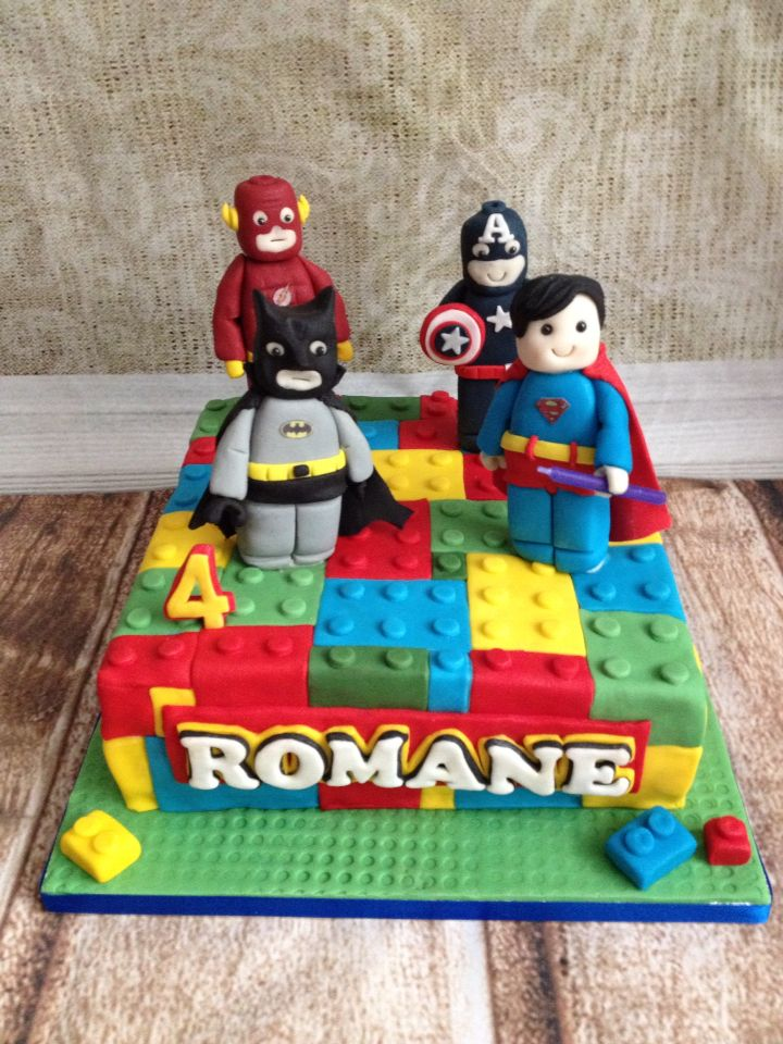 Best 25+ Lego superhero cake ideas on Pinterest Lego ...