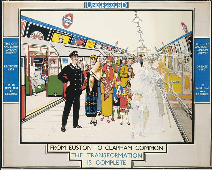 FROM EUSTON TO CLAPHAM COMMON by Richard T. Cooper, 1924