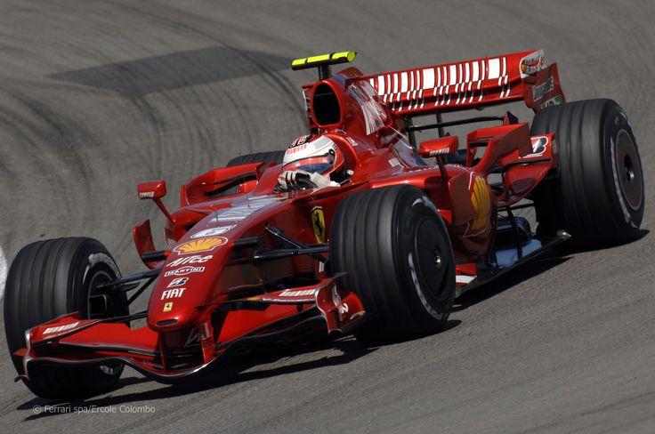 2007 GP Niemiec (Nurburgring) Ferrari F2007 (Kimi Raïkkönen)