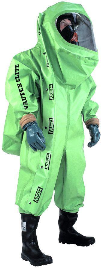 MSA Vautex Elite S Gastight Chemical Protective Suit
