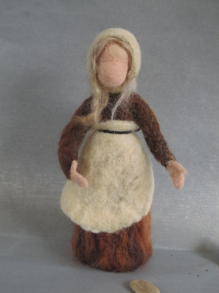 Needle Felted Mother Earth